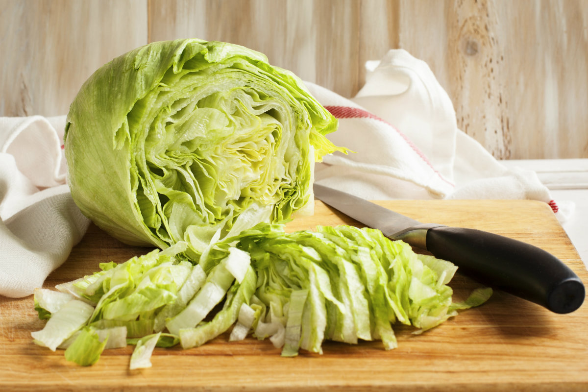 tipi di insalata, iceberg
