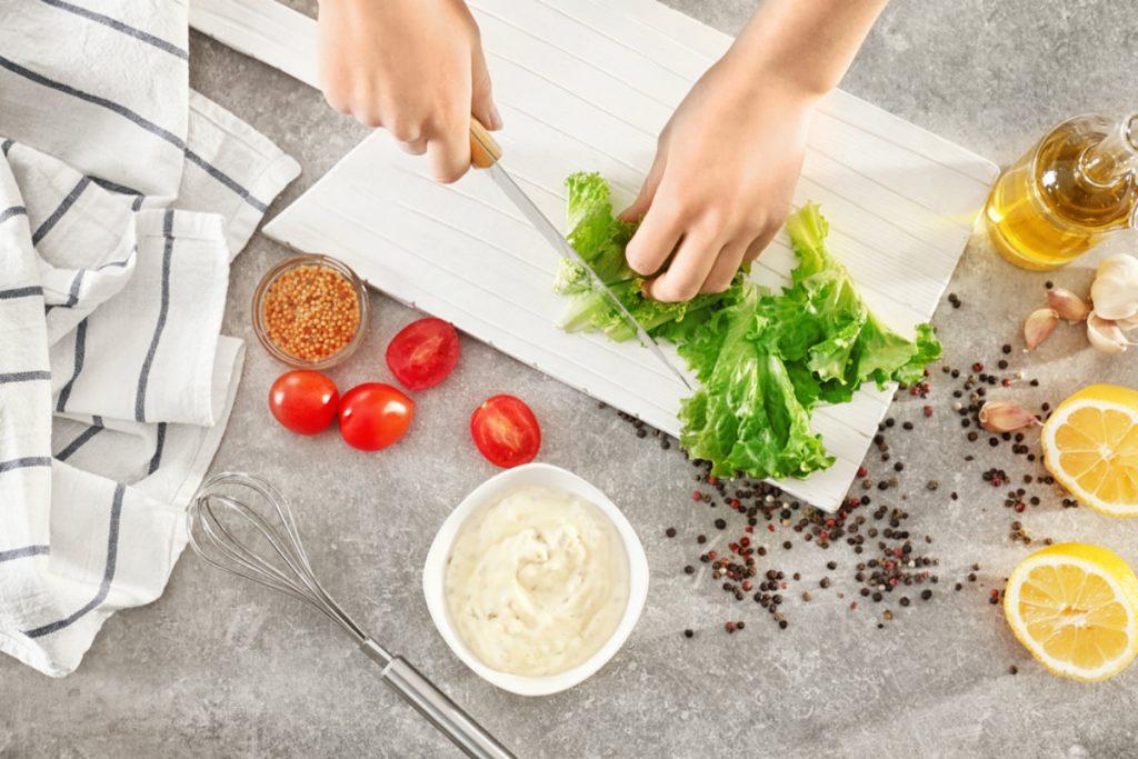 tipi di insalata, la riccia
