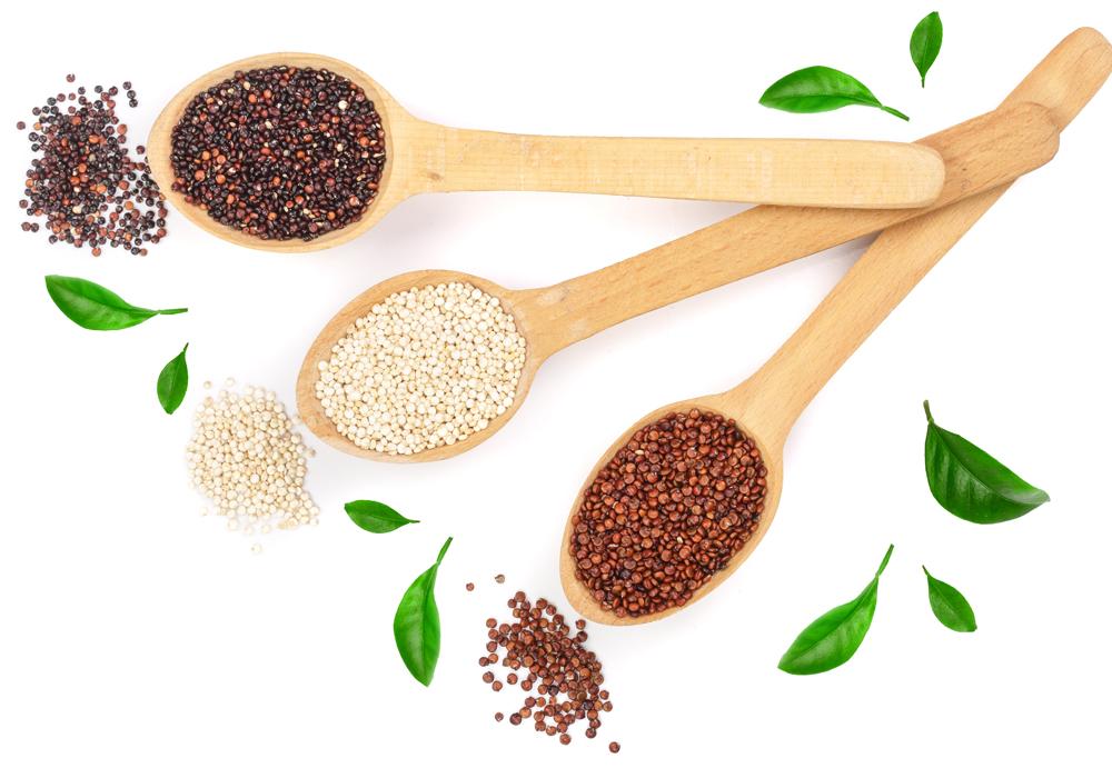 Tanti cereali per l'alimentazione priva di glutine per chi fa sport