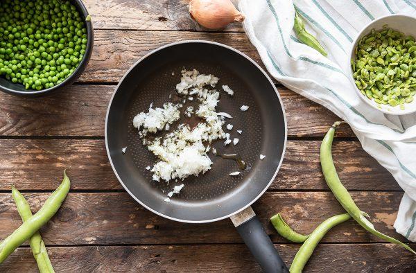 come preparare il risotto con crema di fave
