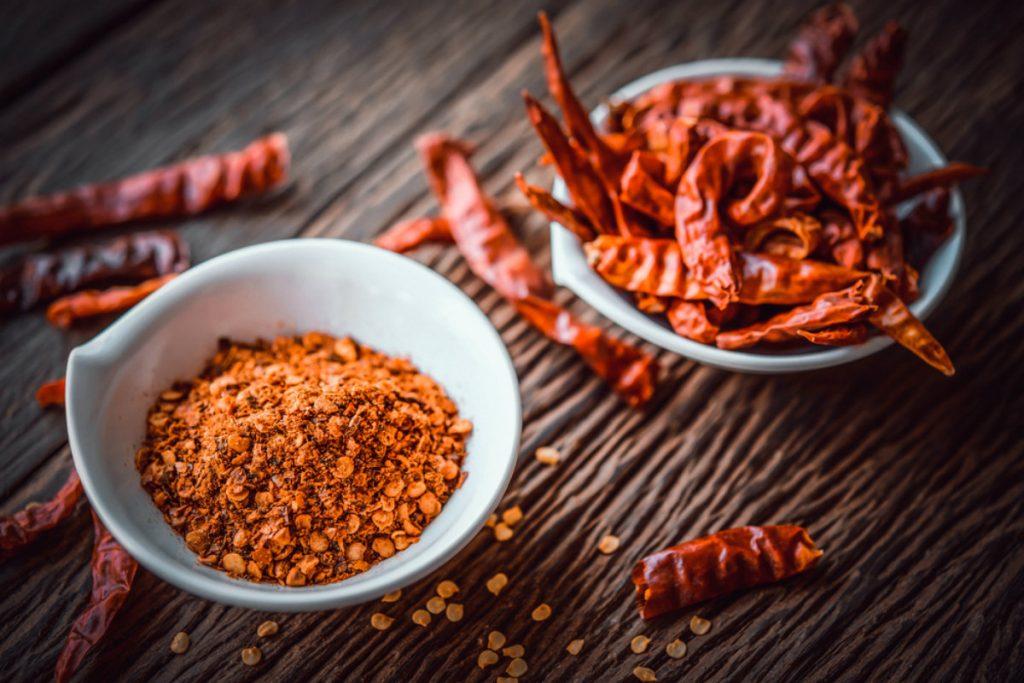 dieta per ipertensione, il peperoncino