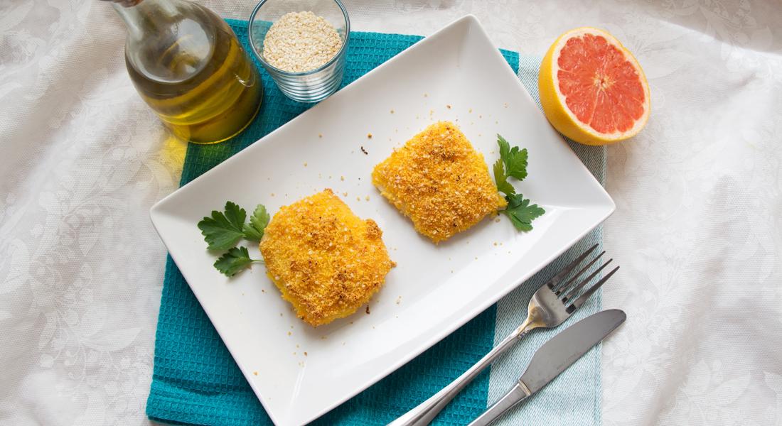 La ricetta dei filetti di pesce persico al forno light e senza glutine.