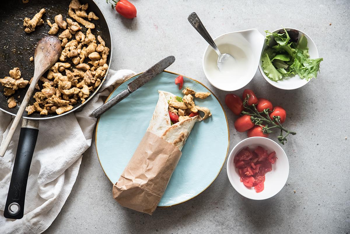 Kebab di pollo ricetta