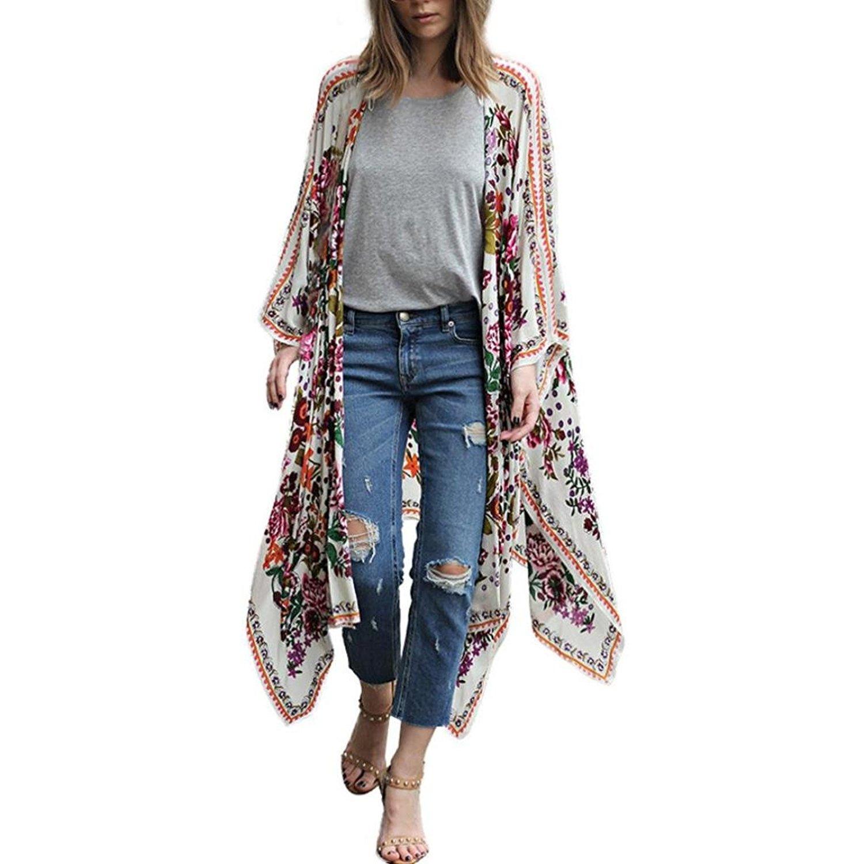 kimono lungo amazon