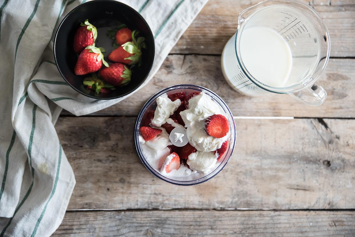Milkshake dietetico