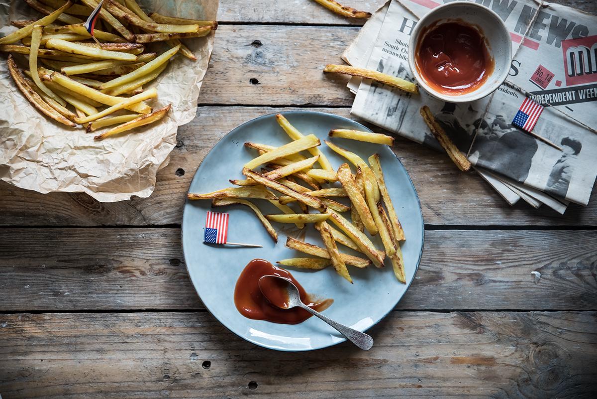 Patatine fritte al forno