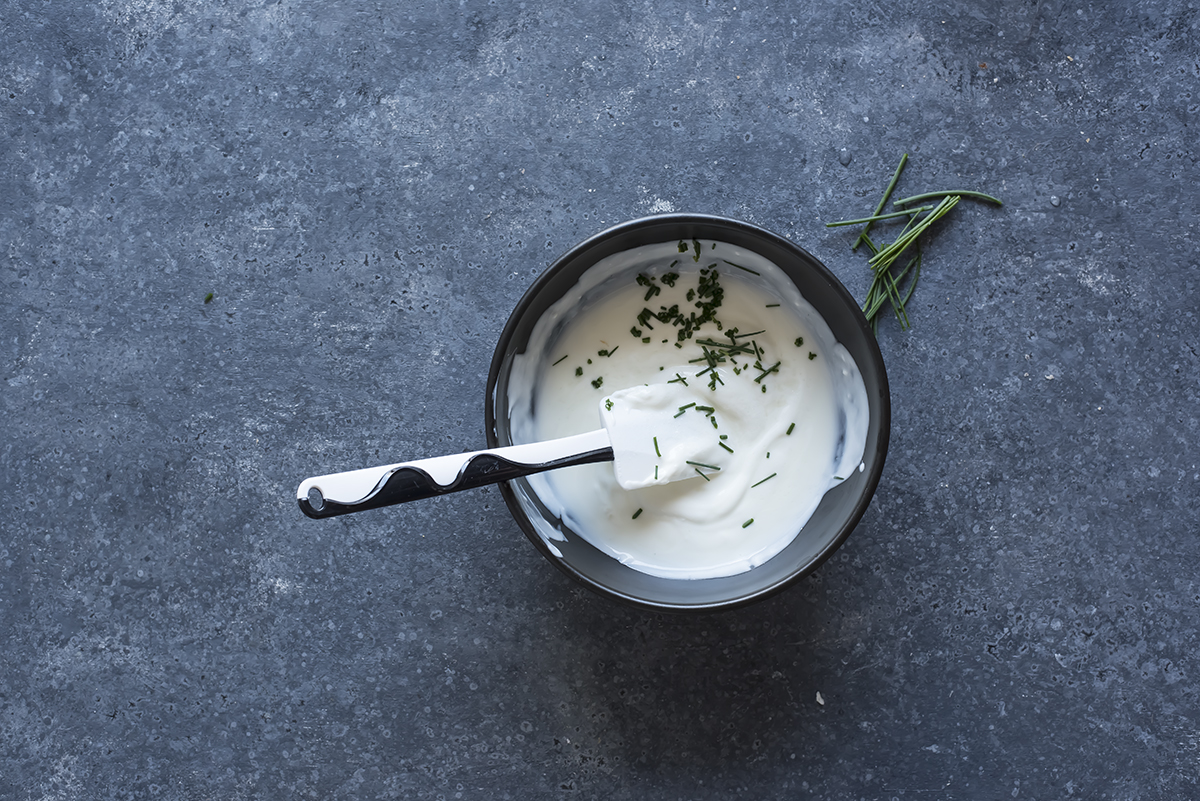 piadina pollo yogurt erba cipollina
