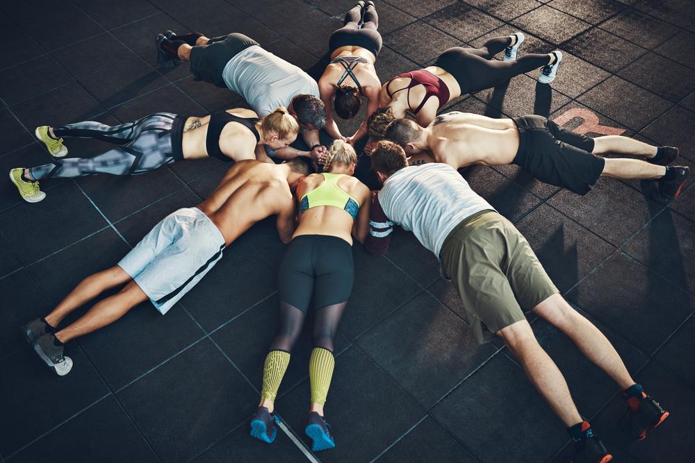 plank challenge per un corpo tonico