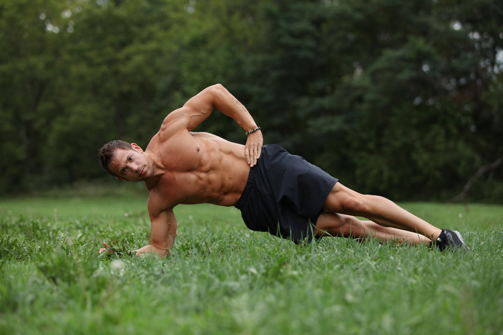 plank laterale: challenge plank