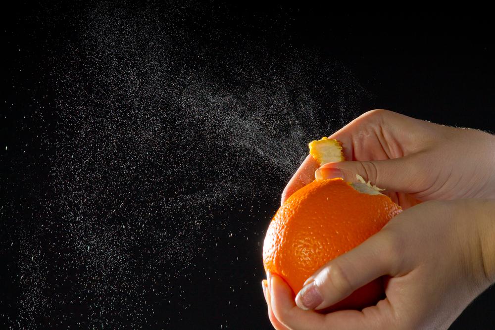 La scorza d'arancia allevia i problemi respiratori