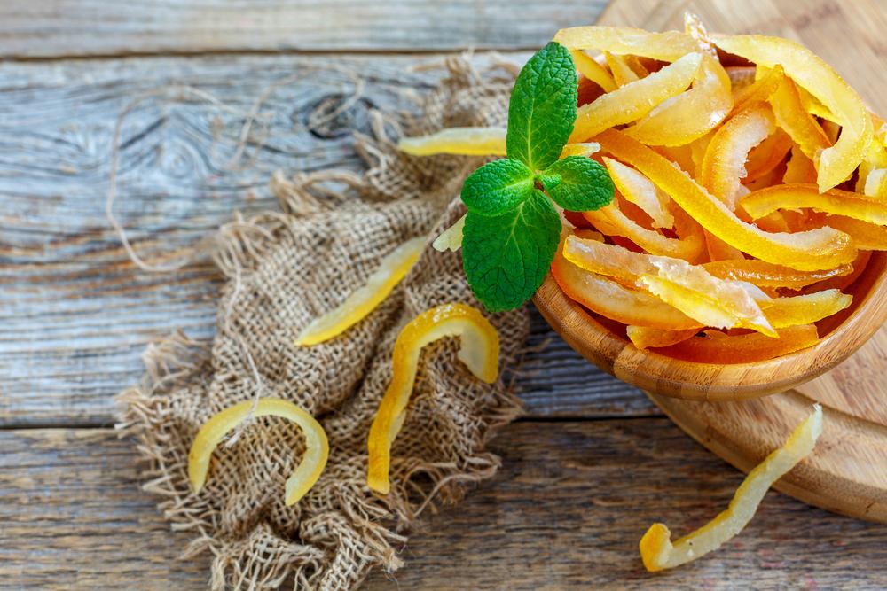Scorza d'arancia: alleata dello stomaco
