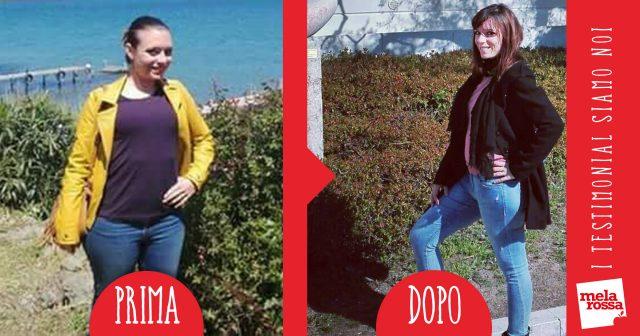Natascia -14kg con Melarossa