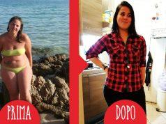 Immagine che mostra una testimonial della dieta Melarossa