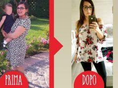 valentina prima e dopo dieta Melarossa