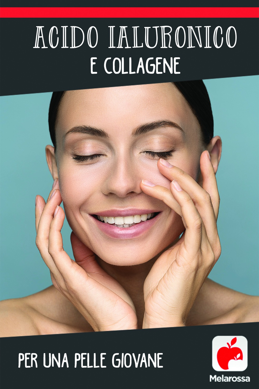Acido ialuronico e collagene per una pelle giovane