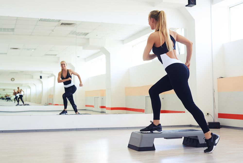 allenamento con lo step per tonificarti