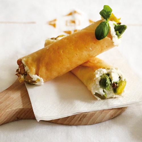 cannoli di parmigiano ripieni senza glutine
