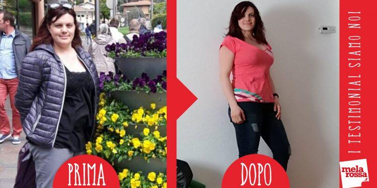 dieta melarossa valeria 16 kg