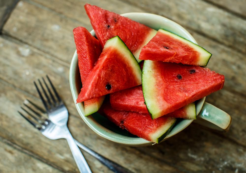 dieta per abbronzatura, l'anguria