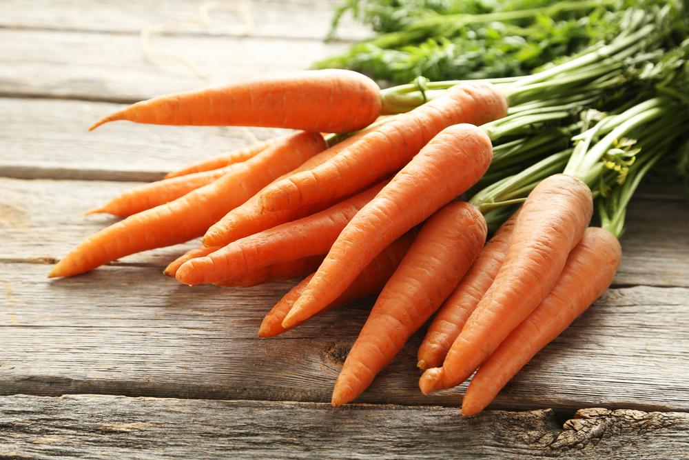 dieta per abbronzatura, le carote