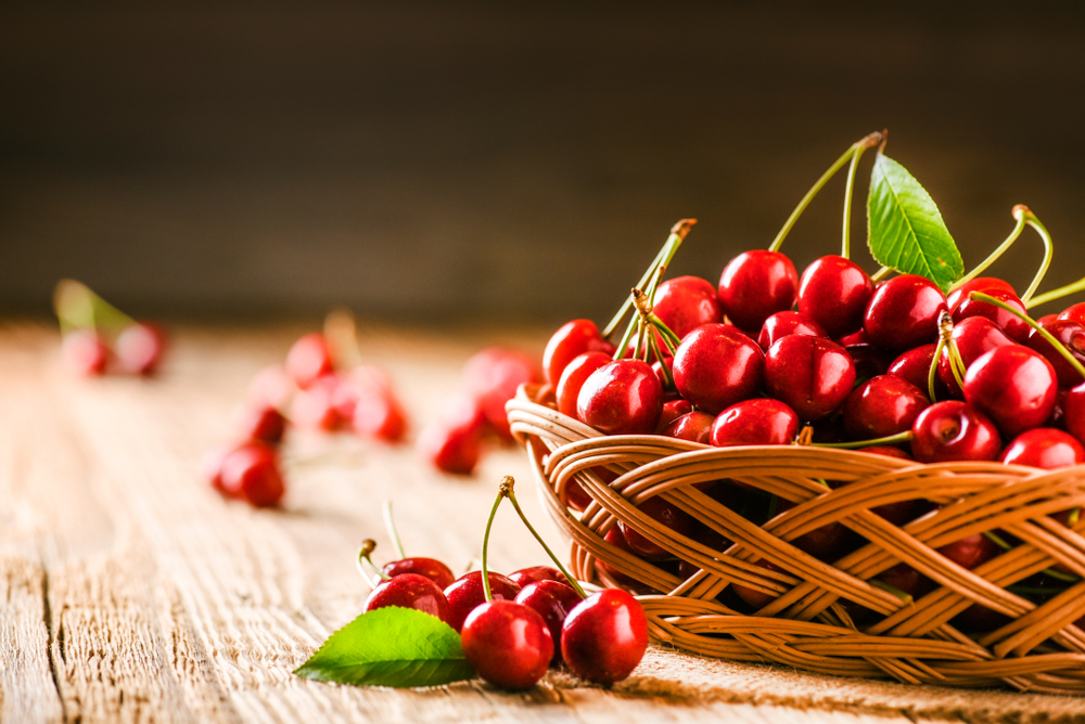 dieta per abbronzatura, le ciliegie
