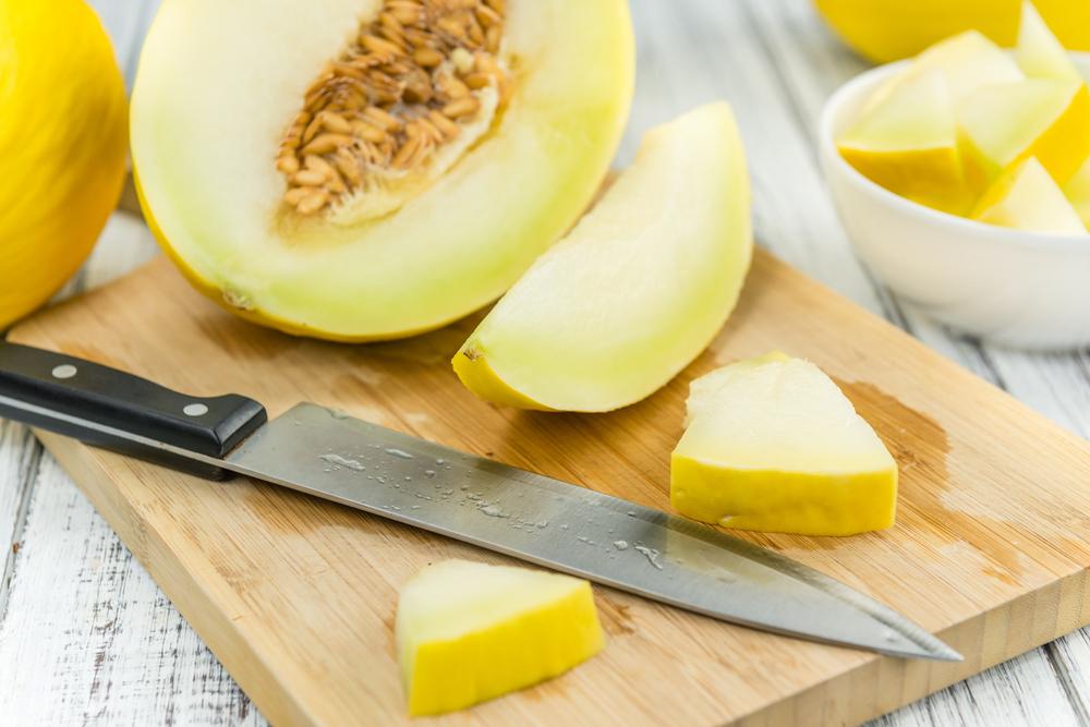 dieta per abbronzatura, il melone