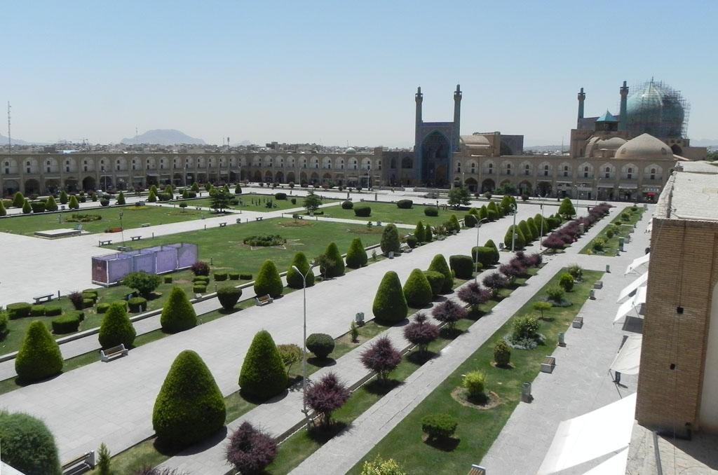 sIsfahan piazza Naqsh-e jahān