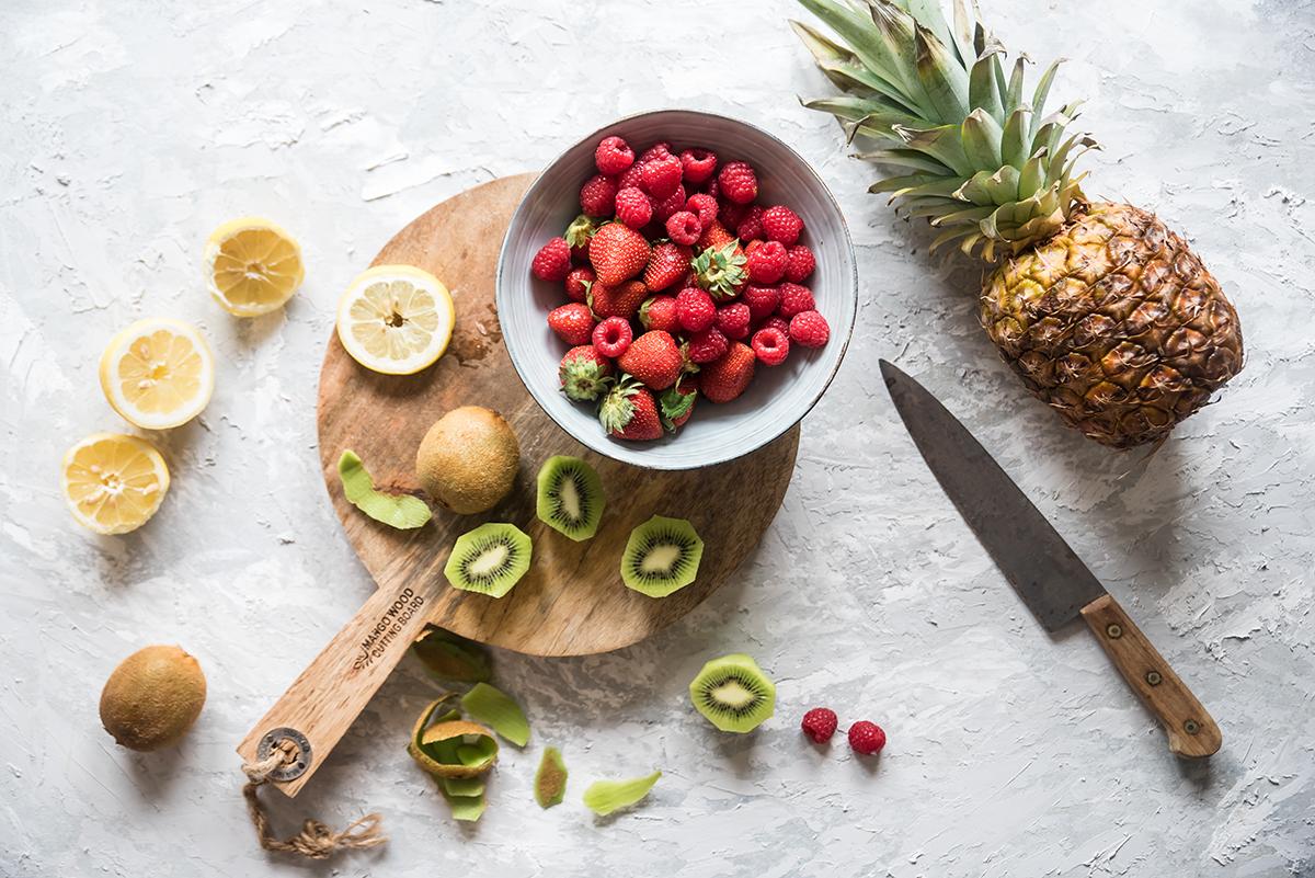 smoothie ai frutti di bosco, un frullato fresco e nutriente