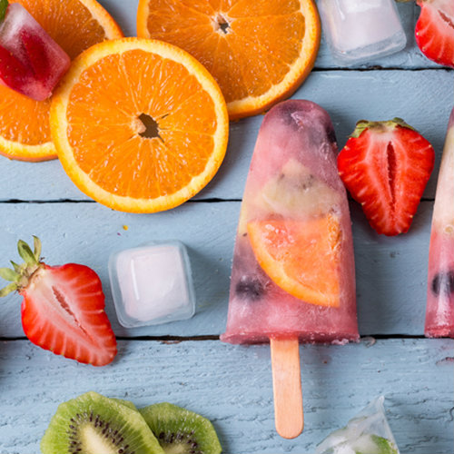 ghiaccioli allo yogurt frutta
