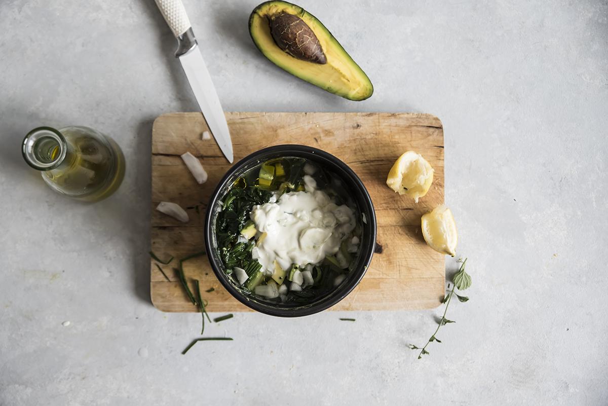 Zuppa di avocado