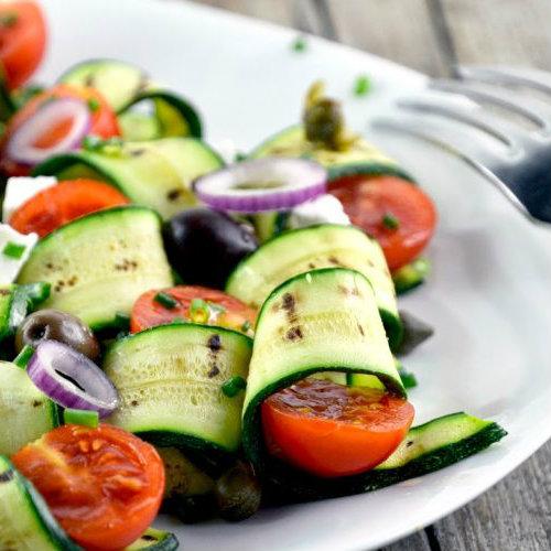 carpaccio zucchine grigliate