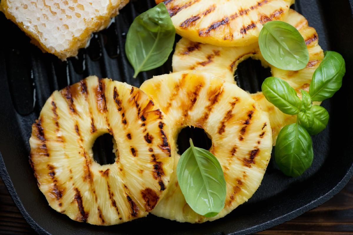 come grigliare la frutta