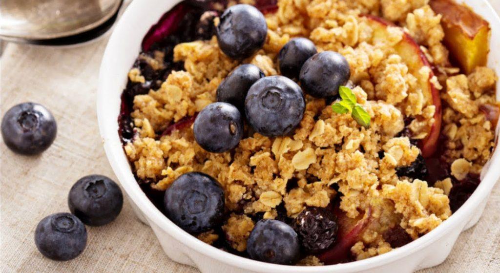 crumble di frutta