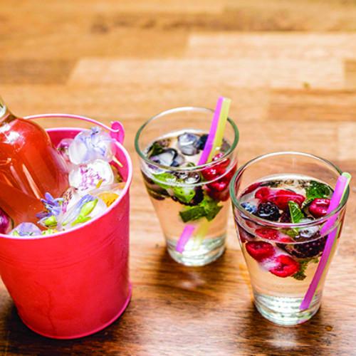 cubetti di ghiaccio, per colorare le tue bevande