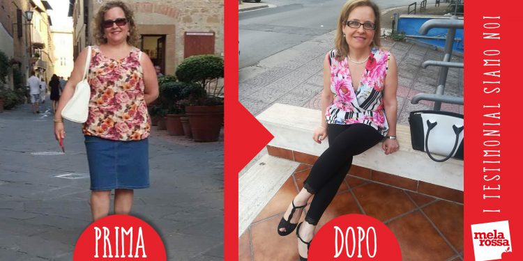 Dieta melarossa Monica 24kg