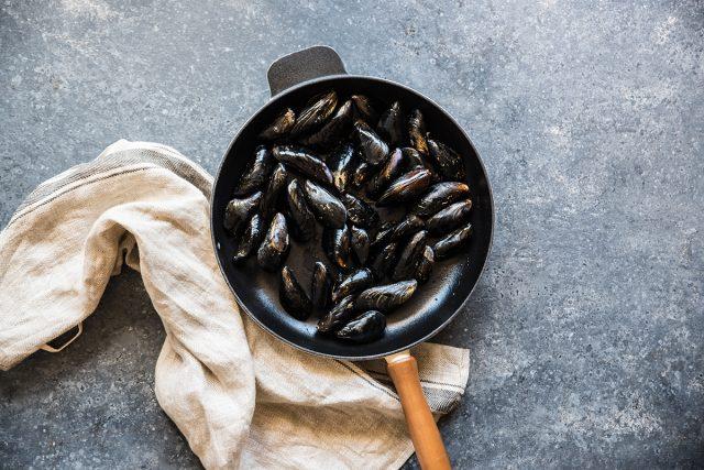 insalata di mare cozze