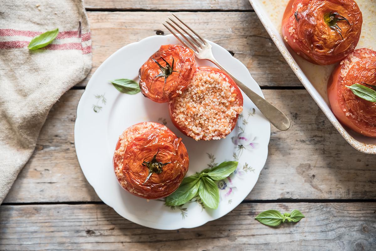 I pomodori ripieni di quinoa