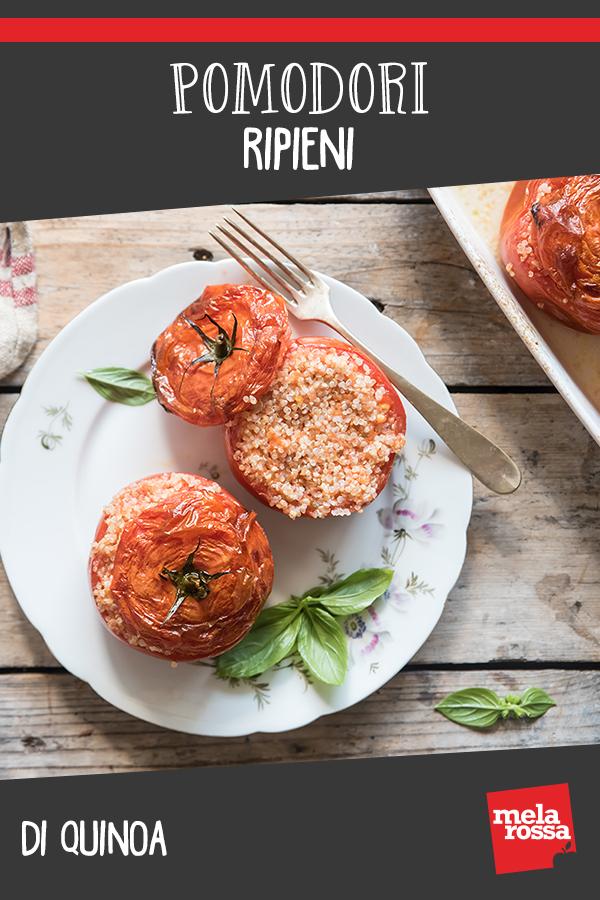 pomodori ripieni di quinoa