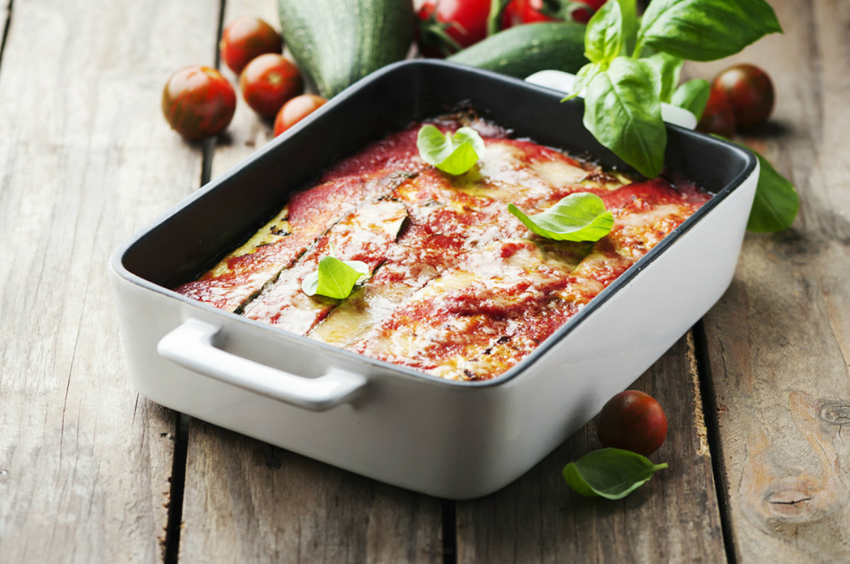 ricette con zucchine, parmigiana