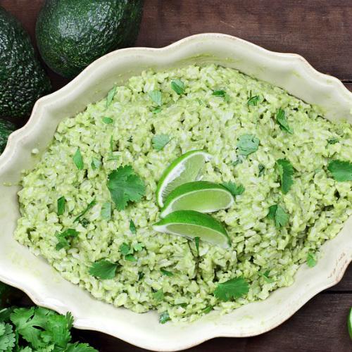 riso con avocado, una ricetta light