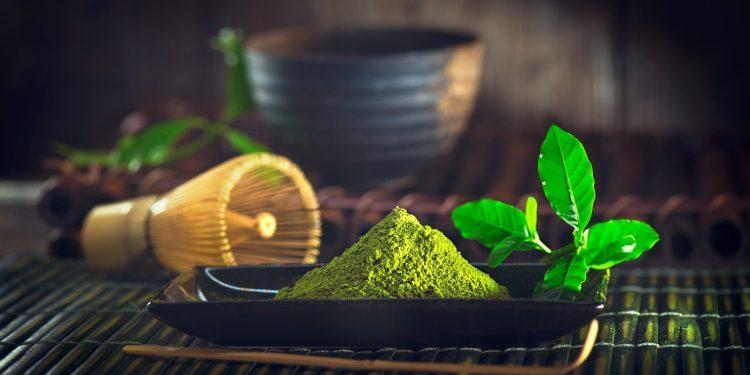 tè verde: antiossidanti