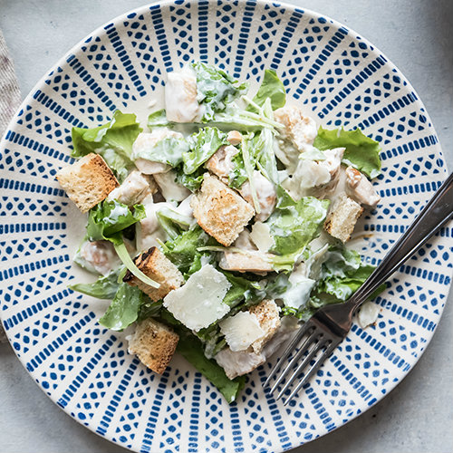 ceasar salad light