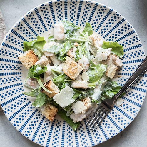 ceasar salad ricetta