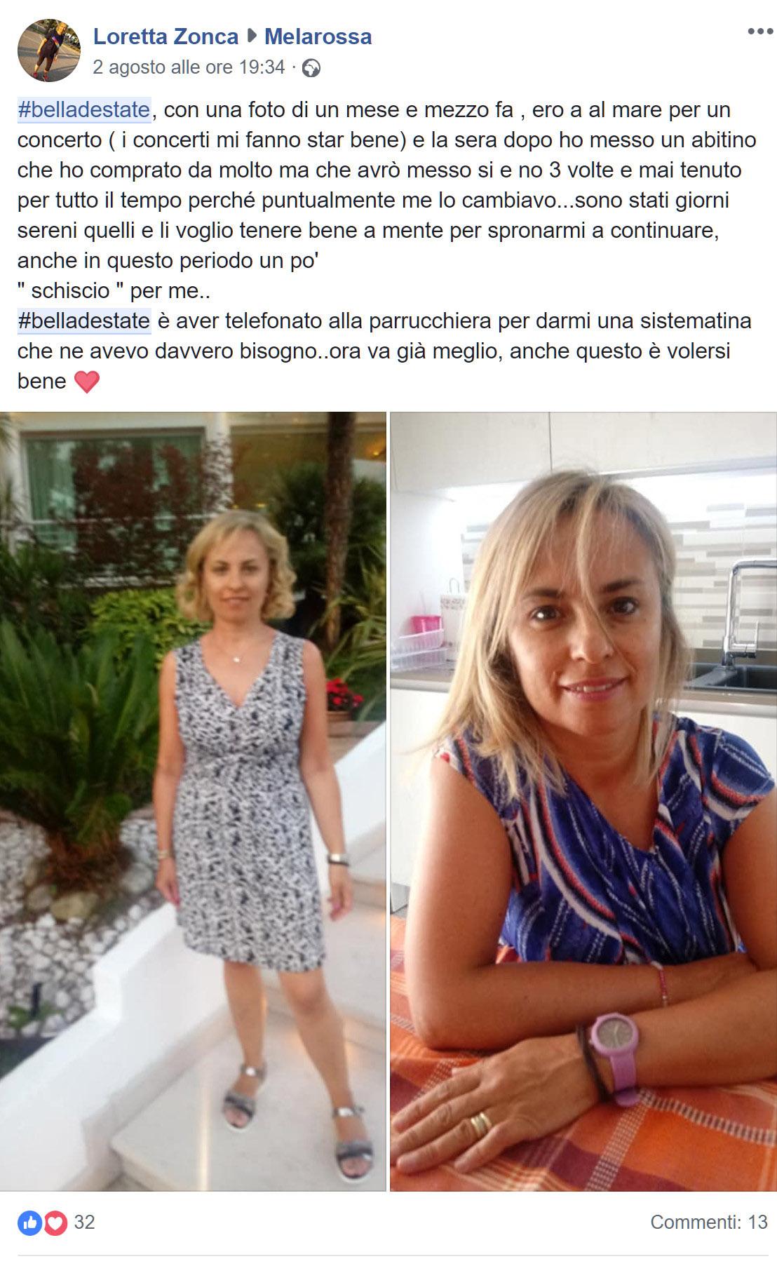 Loretta Zonca #belladestate Melarossa