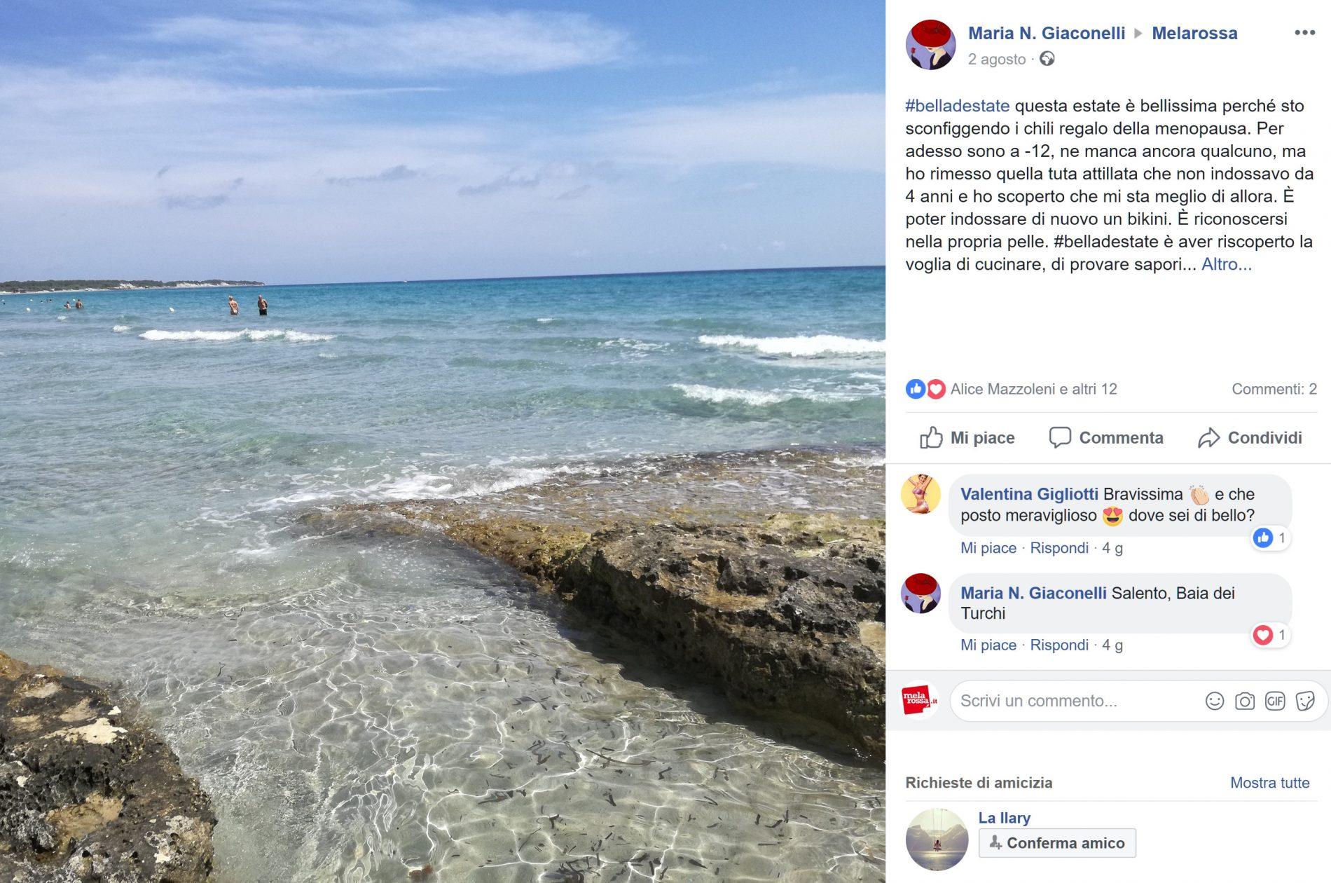 Maria Giaconelli #belladestate
