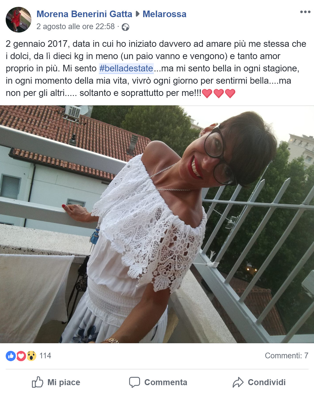 Morena Benerini Gatta #belladestate