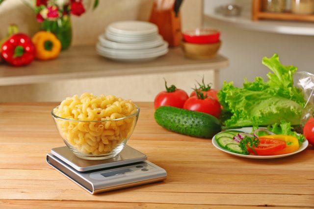 peso del cibo: da cotto a crudo: vedi tabelle