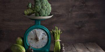 peso del cibo crudo e cotto