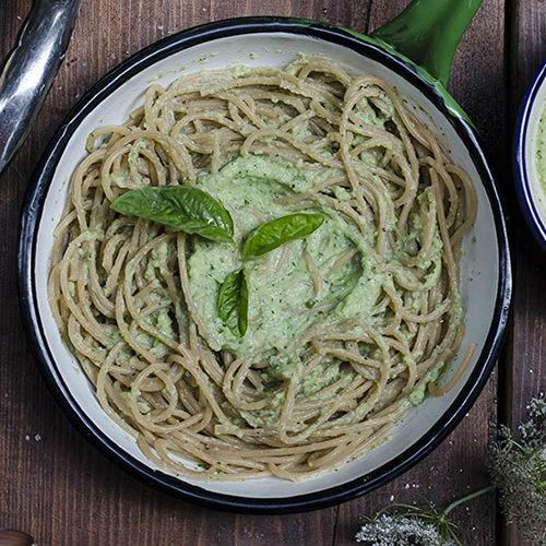 ricetta pesto di zucchine e ricotta