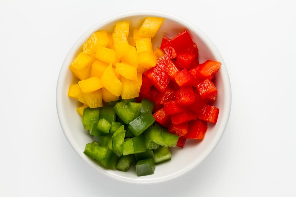Scopri i principali tagli delle verdure: a macedonia